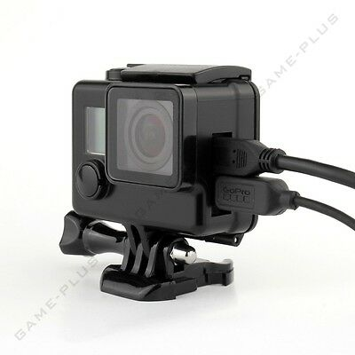 $ CDN15.20 • Buy Blackout Protective Case Skeleton Housing Side Open Shell For GoPro Hero 4 3+ 3