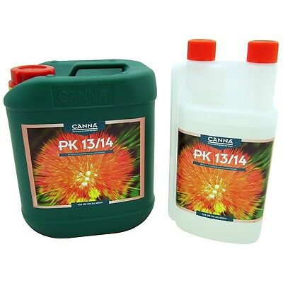 Canna Pk 13/14  Flower Bud , Bloom Booster , Weight Gainer , 250ml Free Pipet • 8.99£
