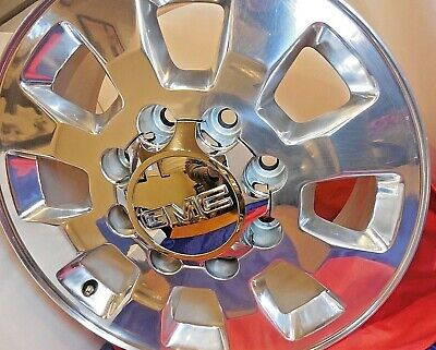 AU258.02 • Buy 18  Gmc Denali Sierra 2500 Truck Hd 8 Lug X 180mm Polished Wheel Rim '13-15 5501