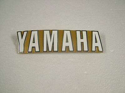 AU59.95 • Buy Yamaha Tx750, Tx650a '73, '74 Reproduction Tank Emblem, , Left Or Right Side.