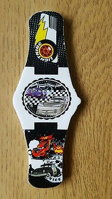 Novelty Watch Erasers Rubbers Stationery - Disney Cars - Black • 0.99£