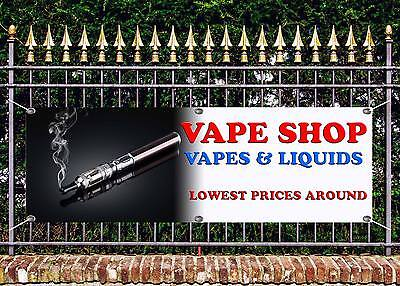 AU16.95 • Buy Outdoor Vape Shop Quality Banner  Sign Advert Free Art Work Ready To Display