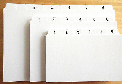 £9.79 • Buy 1-31 INDEX RECORD GUIDE CARDS 8x5 6x4 5x3 DAYS OF MONTH Daily Dividers Tabs : UK