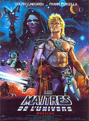 $17.98 • Buy MASTERS OF THE UNIVERSE Movie Poster 1987 He-Man