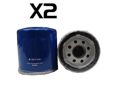 AU1005.90 • Buy 2X Oil Filter Suits Z663 CHRYSLER HOLDEN Commodore Statesman JEEP SUZUKI WCO68