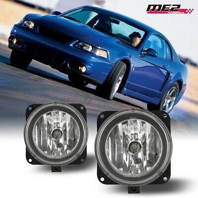 $28.87 • Buy For 03-06 Ford Escape PAIR OE Direct Factory Fit Fog Light Bumper Clear Lens