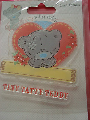 Me To You TINY TATTY TEDDY Clear Stamps Girl Bear For Cards Scrapbooking Craft • 4.99£