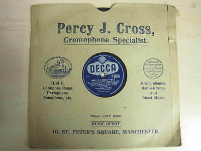 10  78 RPM DECCA Make It A Party Side 1 & 2 Vinyl Gramophone F.10796 • 20£
