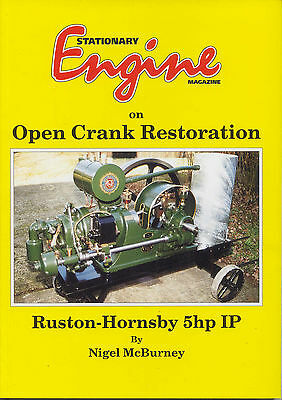 Open Crank Engine Restoration - Ruston Hornsby 5hp IP By N. McBurney • 23.75£
