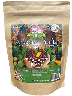 £12.99 • Buy Cacao Beans (peruvian Criolla / Raw) 350g
