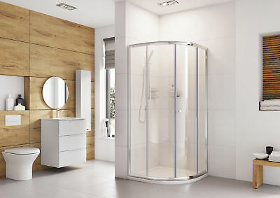 Roman Haven 900mm Quadrant Shower Enclosure Cubicle Made In The UK • 220£