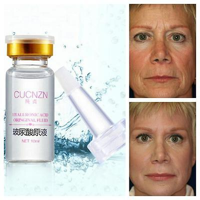 Hyaluronic Acid, Strong Anti Wrinkle Serum 100% Natural Pure Firming Collagen UK • 5.49£