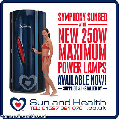 Tansun Symphony Sunbed BRAND NEW Vertical Tanning Bed! Latest  Model • 4,999£