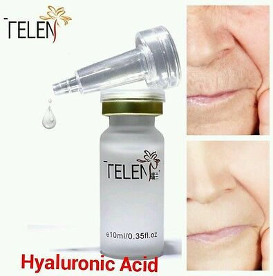 Pure Hyaluronic Acid,100% Natural Strong Anti Age Wrinkle Serum Hydrating Skin • 4.99£