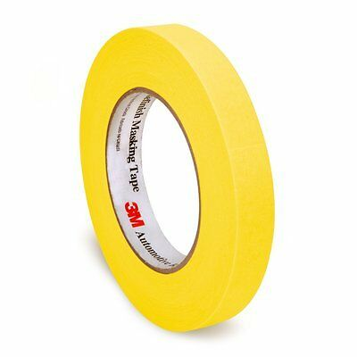 $ CDN39.94 • Buy 3m 06652 3/4 Yellow Refinish Masking Tape Sleeve (12 Rolls) 6652