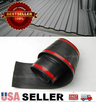 $21.95 • Buy 6' Rubber Truck Bed Tailgate Gap Cover Filler Seal Shield Lip Cap For Ford Dodge