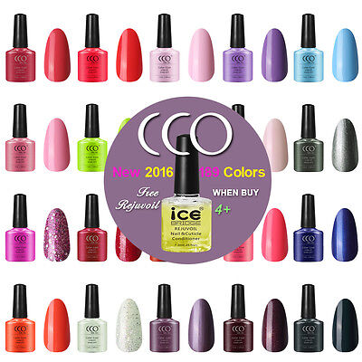 CCO UV LED NAIL GEL POLISH VARNISH SOAK OFF 7.3ml  NEW COLOURS • 4.99£