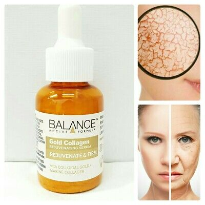 Strong Gold Collagen Firming Anti Wrinkle Serum 100% Natural Pure Skin Care  • 5.99£