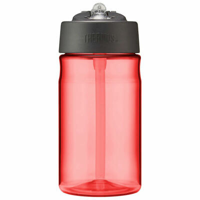 Thermos Intak Hydration Bottle With Straw Red 355Ml Outdoor Travel Drink New • 10.49£