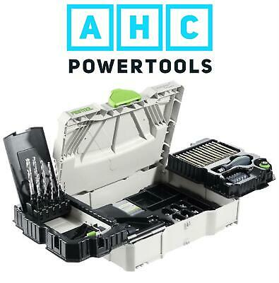 Festool SYS1 CE-SORT Centrotec Systainer Kit 98 Piece Assembly Package • 399.95£