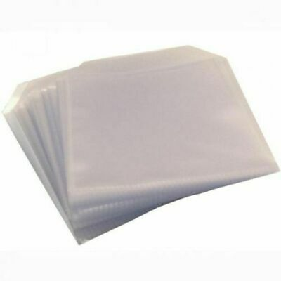 £40.99 • Buy 2000 High Quality THICK 120 Micron Clear Plastic CD DVD Sleeves Side STITCH NEO