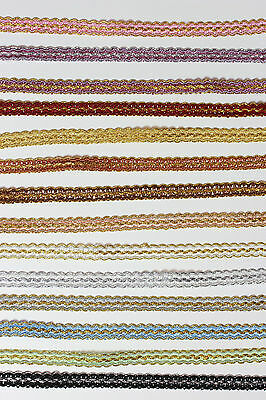 £1.99 • Buy Braid Gimp Trim Upholstery Craft Edging Available  14  Different Colours #2