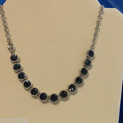 $ CDN44.32 • Buy Brand New! In Box! Lia Sophia Small Crystal Montana Blue Strand