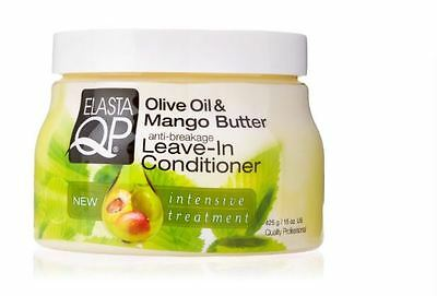 £4.79 • Buy Elasta QP Leave-In Conditioner, Olive Oil/Mango Butter, 15 Ounce