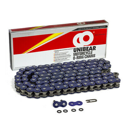 AU42.81 • Buy 530 Blue Motorcycle O-Ring Chain 98 Links With 1 Connecting Link