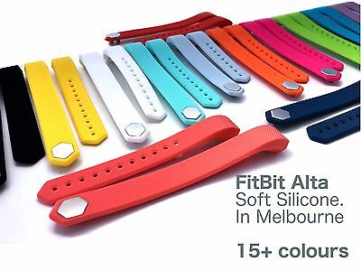 AU3.99 • Buy Silicone Band For FitBit Alta - Replacement For Fit Bit Pedometer - Melbourne!