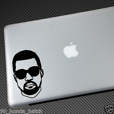 KANYE WEST VINYL STICKER DECAL Shirt Nike Air Bapes Sneakers Shoes Yeezy APC Cd • 3.83£