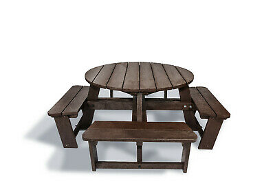 Edgemond Olympic 8 Seat Heavy Duty Picnic Table - Made From Recycled Plastic • 849£