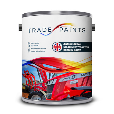 £46.99 • Buy Tractor & Agricultural Plant Machinery Equipment Enamel Gloss Metal Paint