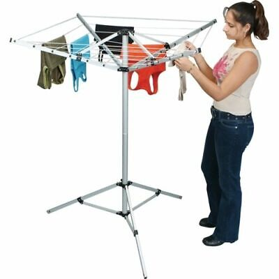 Pennine 4 Arm Portable Rotary Airer Folding Washing Line Camping Caravan  • 32.99£