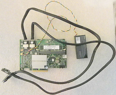 $209.99 • Buy Dell Perc H700 Raid Controller/ Battery / Wire/ Cables Xxfvx M246m Ry631 Nu209