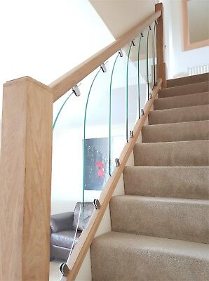 Glass StairCase Panels - For Rake And Landing - Glass StairParts • 49.58£