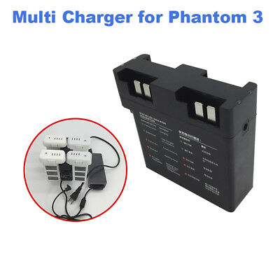 AU26.64 • Buy Intelligent Multi Batteries Charging Hub For DJI Phantom 3 Standard Advance Pro