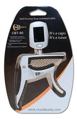 $ CDN35.33 • Buy New Chord Buddy Guitar Capo Chromatic Tuner For Electric And Acoustic Tuner-Capo
