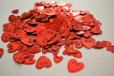 £1.49 • Buy Red Confetti Hearts- Scatter Table Decorations. Ideal ForWeddings, Valentines.
