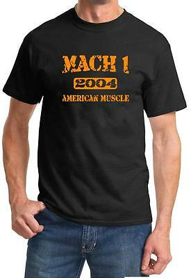$20 • Buy 2004 Ford Mustang Mach 1 American Muscle Car Color Design Tshirt NEW Free Ship