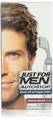 £43.51 • Buy Just For Men Autostop Hair Color, Medium Brown A-35 (Pack Of 6)