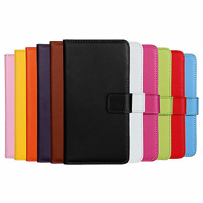 AU6.88 • Buy Slim Leather Wallet/Pouch Stand Case Cover For Nokia / Microsoft Lumia Model