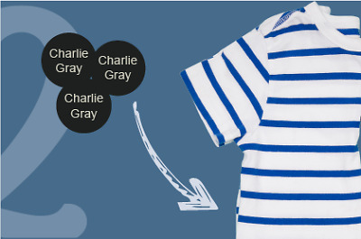 Snappy Tags Personalised Name Label Button Plastic Tags For Clothes 100% Secure • 29.95£