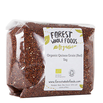 AU16.95 • Buy Organic Red Quinoa - Forest Whole Foods