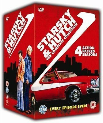 £24.95 • Buy Starsky And Hutch: Complete Series 1 2 3 & 4 Dvd  Box Set New/Sealed