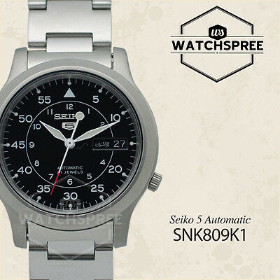 $ CDN116.65 • Buy Seiko 5 Automatic Watch SNK809K1