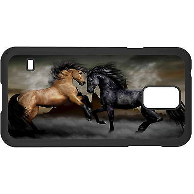 Horses War Hard Case Cover For Samsung New • 6.49AU
