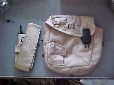 $ CDN9.23 • Buy NEW / UNISSUED 2 QT Collapsible Water Canteen Cover Pouch W / Sling Desert Tan