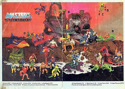 $16.81 • Buy He-Man And The Masters Of The Universe Mattel Toys Display POSTER