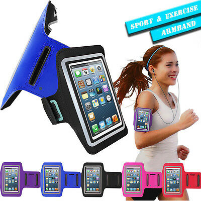 Sports Jogging Gym Running Armband Case Cover Holder For Various Mobile Phone UK • 2.99£